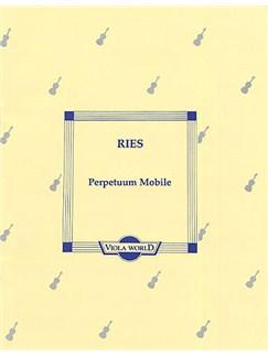 Ferdinand Ries: Perpetuum Mobile Books   Viola, Piano