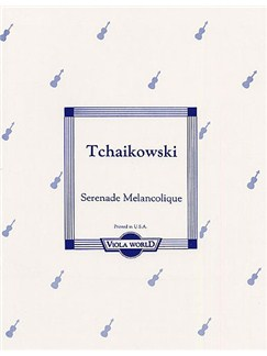Pyotr Ilyich Tchaikovsky: Serenade Melancholique For Viola And Piano Books | Viola, Piano