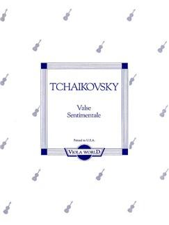 Tchaikovsky: Valse Sentimentale (Viola/Piano) Books | Viola, Piano