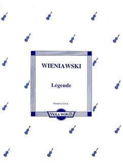 Henryk Wieniawski: Legende (Viola) Books | Viola, Piano Accompaniment