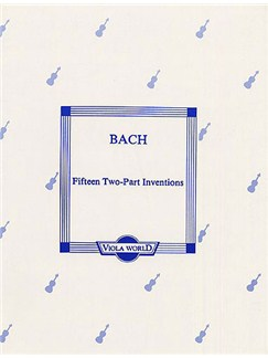 J.S. Bach: Fifteen Two-Part Inventions (Viola Duet) Books | Viola (Duet)