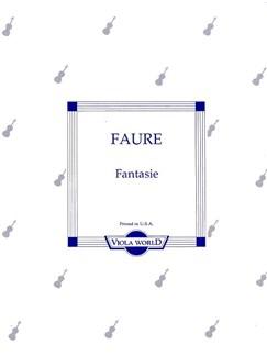 Gabriel Faure: Fantasie (Viola) Books   Viola, Piano Accompaniment