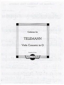 Alan Arnold: Cadenzas For Telemann Viola Concerto In G Books | Viola