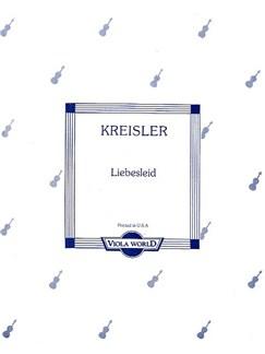 Fritz Kreisler: Liebeslied (Viola/Piano) Books | Viola, Piano