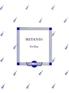 Ludwig Van Beethoven: Fur Elise (Viola) Books | Viola, Piano Accompaniment