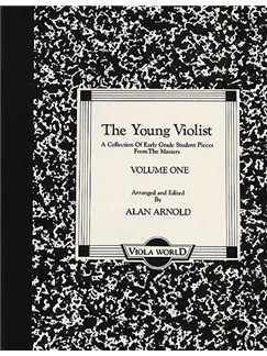 Alan Arnold: The Young Violist - Volume One Books | Viola, Piano Accompaniment