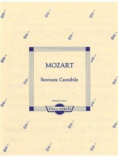 W.A. Mozart: Serenata Cantabile K.285 (Viola/Piano) Books   Viola and Piano