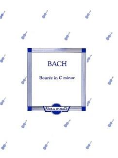 Bach: Bourree In C Minor For Viola And Piano Books | Viola, Piano