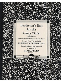 Beethoven's Best For The Young Violist Books | Viola, Piano