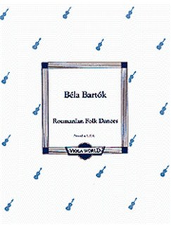 Bela Bartok: Roumanian Folk Dances Books | Viola, Piano
