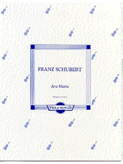 Franz Schubert: Ave Maria Books | Viola, Piano Accompaniment