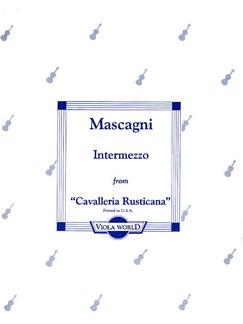 Pietro Mascagni: Intermezzo From 'Cavalleria Rusticana' Books | Viola, Piano Accompaniment