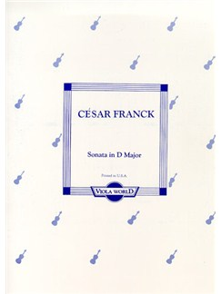 Cesar Franck: Sonata In D Major (Viola/Piano) Books | Viola, Piano Accompaniment