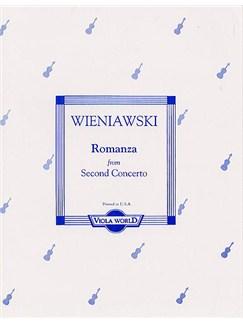 Wieniawski: Romanza From Second Concerto Books | Viola with Piano Accompaniment