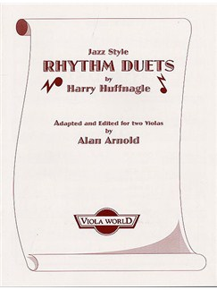 Harry Huffnagle: Jazz Style Rhythm Duets Books | 2 Violas