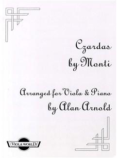 Vittorio Monti: Czardas (Viola And Piano) Books | Viola, Piano Accompaniment