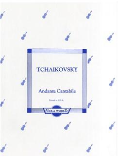 Pyotr Ilyich Tchaikovsky: Andante Cantabile (Viola) Books | Viola