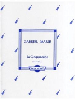 Jean Gabriel-Marie: La Cinquantaine (Viola/Piano) Books | Viola, Piano Accompaniment