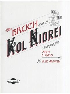 Max Bruch Opus 47: Kol Nidrei Books | Viola, Piano
