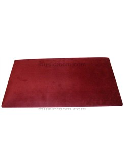 Stagg: Piano Bench Top - Wine Red Velvet  | Piano, Digital Piano