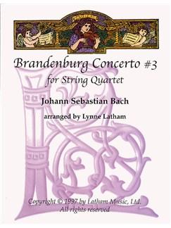 J.S. Bach: Brandenburg Concerto No.3 (String Quartet) Books | String Quartet
