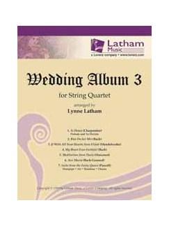Wedding Album 3 - String Quartet (Parts) Books | String Quartet