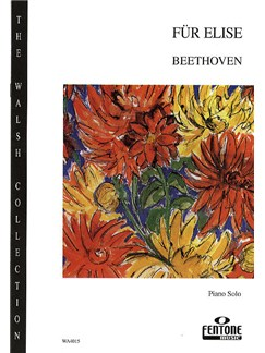 Ludwig Van Beethoven: Fur Elise Books   Piano
