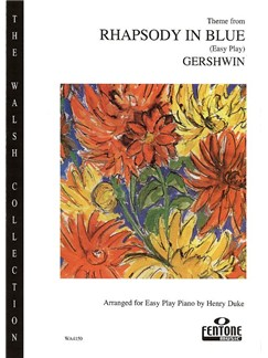 George Gershwin: Rhapsody In Blue (Easy Piano) Books | Piano