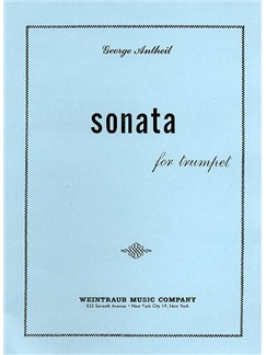 George Antheil: Sonata For Trumpet Books | Trumpet, Piano Accompaniment