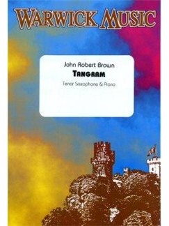 John Robert Brown: Tangram Books | Tenor Saxophone, Piano Accompaniment