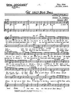Sherman/Sherman: The Ugly Bug Ball Libro | Línea de Melodía, Texto y Acordes