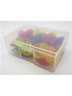 30 Heart Shaped Multi Coloured Paper Clips  |