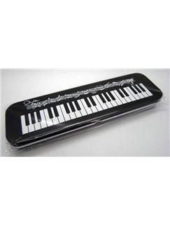 Keyboard Design Tin Pencil Case  |