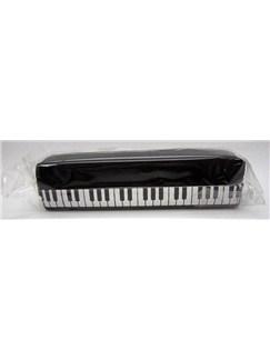 Black Keyboard Design Pencil Case   