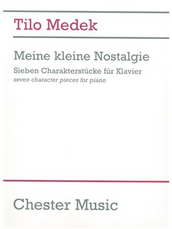 Tilo Medek: Meine Kleine Nostalgie - Seven Character Pieces For Piano Books | Piano