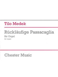 Tilo Medek: Rückläufige Passacaglia Books | Organ