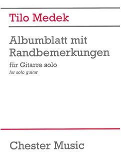 Tilo Medek: Albumblatt Mit Randbemerkungen Books | Guitar