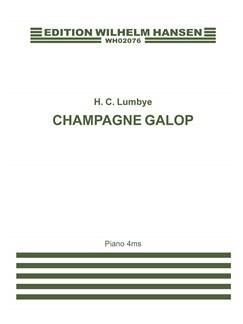H. C. Lumbye: Champagne Galop (Piano 4ms) Bog | Klaver solo
