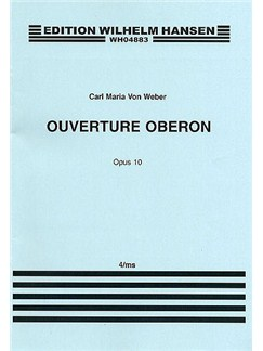 Carl Maria Von Weber: Overture From Oberon (Piano Duet) Books | Piano Duet