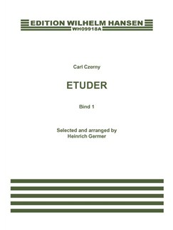 Carl Czerny: Etuder Bind 1 Buch | Klavier