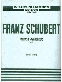 Franz Schubert: Fantasy 'The Wanderer' Op.15 Books | Piano