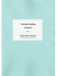 Christian Sinding: Piano Concerto Op.6 (Score) Books | Piano, Orchestra