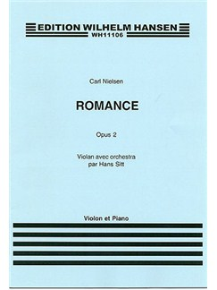 Carl Nielsen: Romance Op.2 (Violin/Piano) Books | Violin, Piano