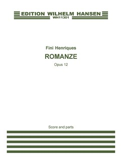Fini Henriques: Romance Op. 12  for Violin Solo and Strings Books | Violin, String Instruments