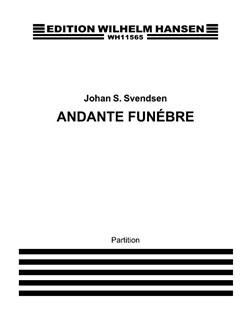 Johan Svendsen: Andante Funèbre For Orchestra Books | Orchestra