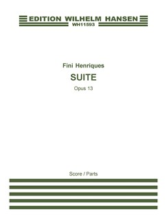 Fini Henriques: Suite Op. 13 (Score And Parts) Books | Chamber Group, Oboe, String Instruments