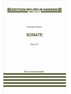 Thorvald Hansen: Sonata For Cornet And Piano Op.18 Books | Cornet, Piano