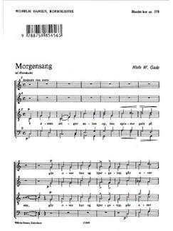 Niels W. Gade: Morgensang Af Elverskud Books | SATB (Divisi)