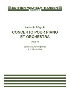 Ludomir Rózycki: Concerto Pour Piano (Two Pianos) Books | Two Pianos