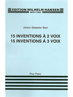 J.S. Bach: Fifteen Two And Three Part Inventions Books | Piano, Harpsichord or Organ